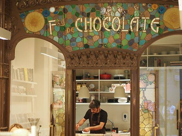 cioccolaterie di Barcellona: chök