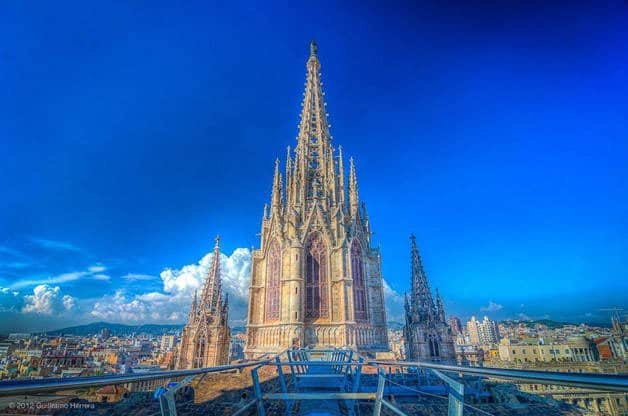 cattedrale esterno weekend storia Barcellona