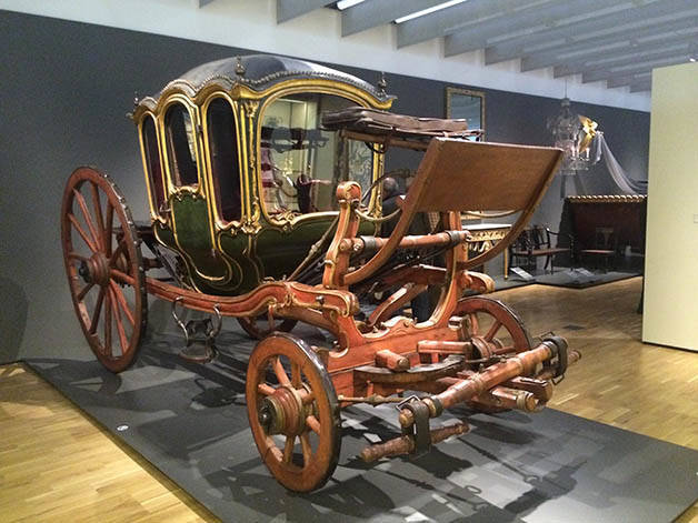 carrozza museo del design