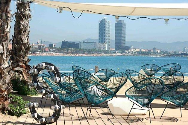 salt beach club stagione Barcellona