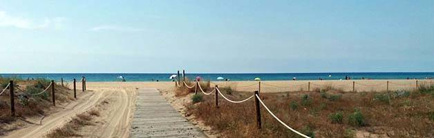 spiaggia castelldefels