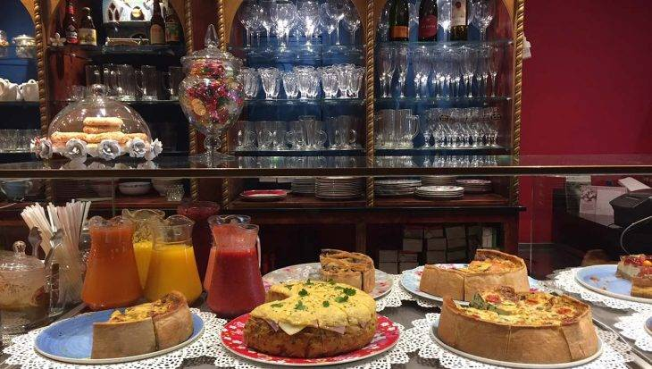 harry potter cafe quiches