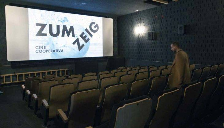 cinema di Barcellona Zumzeig, versione originale